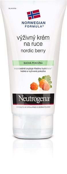 NEUTROGENA Nourishing Hand Cream with Nordic Berry 75 ml - Krém na ruce