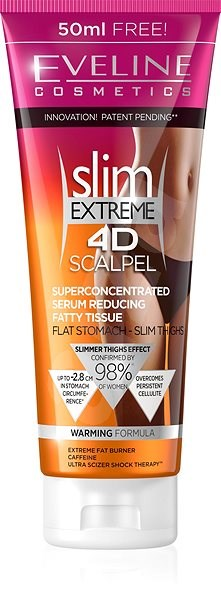 EVELINE COSMETICS Slim Extreme 4D Scalpel Superconcentrated Serum Reducing Fatty Tissue 250 ml - Sérum