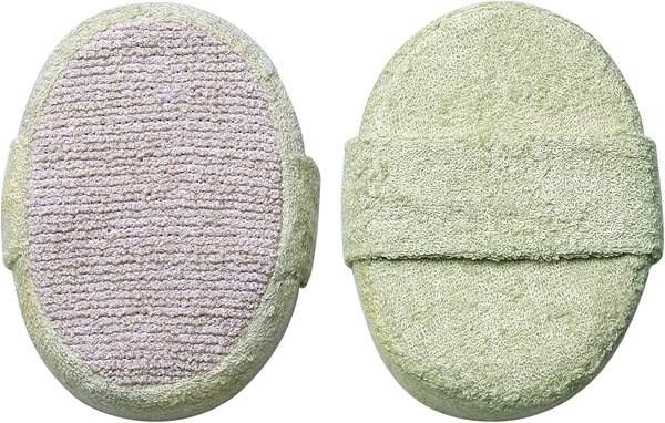 TITANIA Natural Body Care Koupelová a masážní houba/ovál - Masážní rukavice