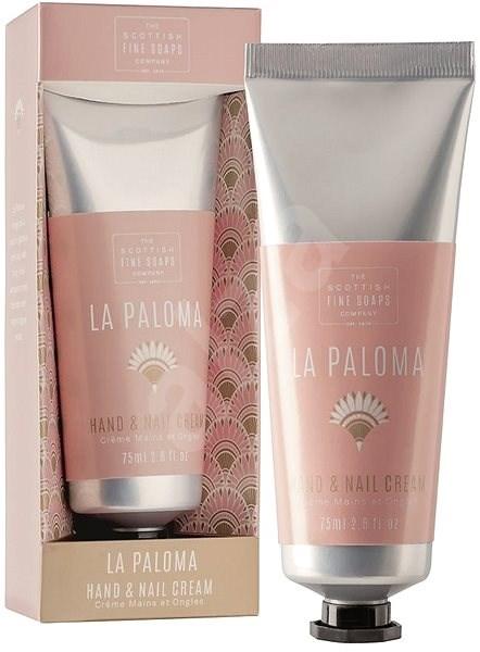 SCOTTISH FINE SOAPS La Paloma Hand & Nail Cream 75 ml - Krém na ruce