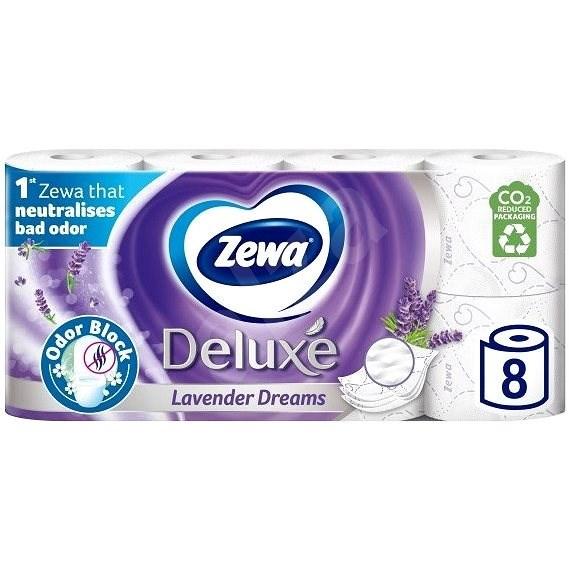 ZEWA Deluxe Lavander (8 ks) - Toaletní papír