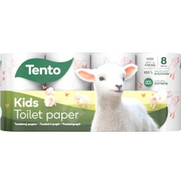 TENTO Kids Panda (8ks) - Toaletní papír