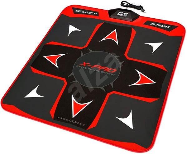 X-PAD Extreme Dance Pad PlayDance Edition - červená - Taneční podložka