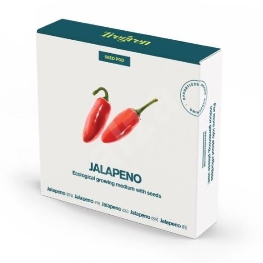 TREGREN Chilli papričky Jalapeno  - Sada