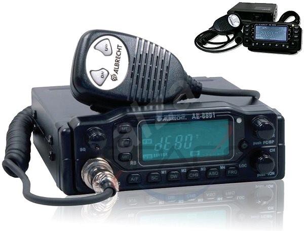ALBRECHT AE 6891 - radiostanice