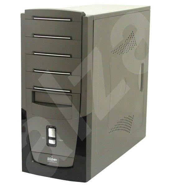 "KME MiddleTower ATX CX-5759 P4-400W 4x5.25"", 2+5x3.5"" - Počítačová skříň"