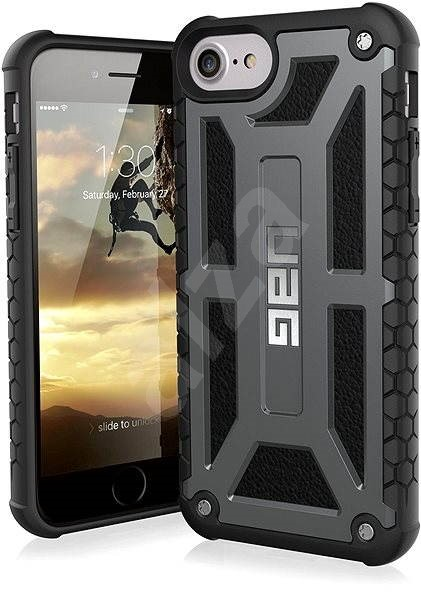 UAG Monarch Premium Graphite pro iPhone 7 Plus  6s Plus - Kryt na mobil 09e16c92e45