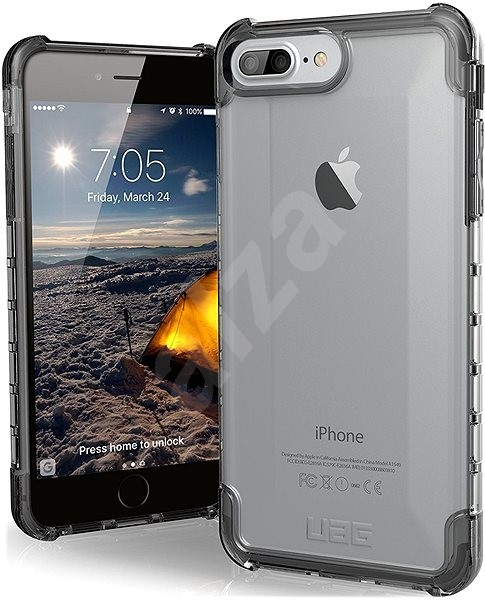 UAG Plyo case Ice Clear iPhone 8 Plus/7 Plus/6s Plus - Kryt na mobil