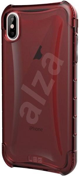 UAG Plyo Case Crimson Red iPhone XS Max - Kryt na mobil