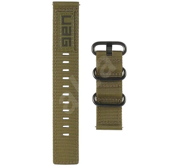 UAG Nato Strap Olive Samsung Galaxy Watch 46mm - Řemínek