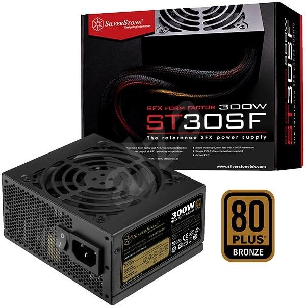 SilverStone SFX Bronze ST30SF v 2.0 300W - Počítačový zdroj