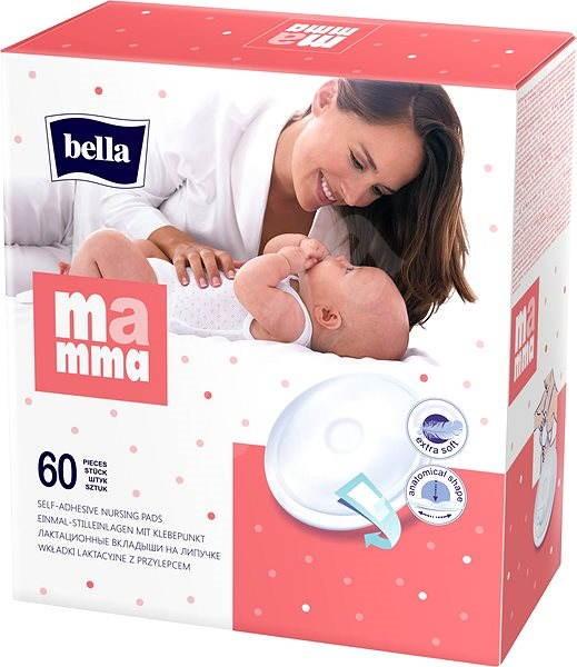 BELLA Mamma breast pads (60 pcs) - breast pads