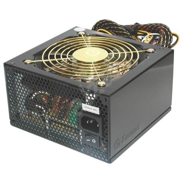 Enermax Liberty 620W ATX2.0, aktivní PFC, 120mm ventiáltor, odpojitelné kabely - Počítačový zdroj