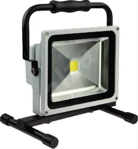 Solight venkovní reflektor se stojanem 20W, šedý - LED světlo