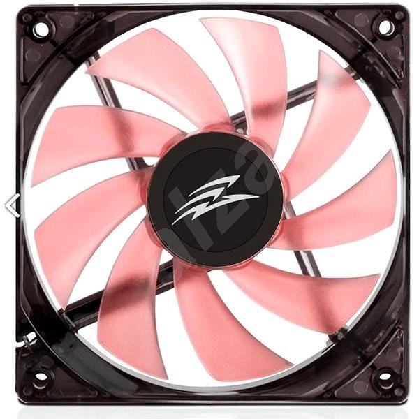 EVOLVEO 12L1RD LED 120mm červený  - Ventilátor do PC