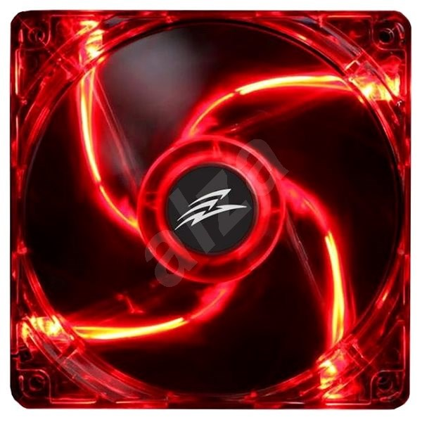 EVOLVEO 14L1RD LED 140mm červený  - Ventilátor do PC
