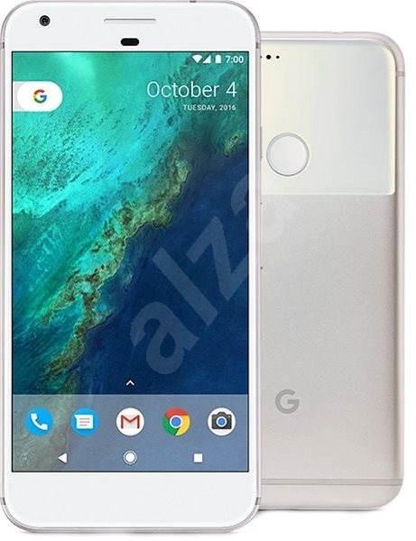 Google Pixel Very Silver 128GB - Mobilní telefon