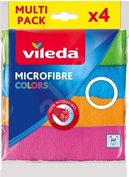 VILEDA Mikrohadřík Colors 4ks - Hadřík