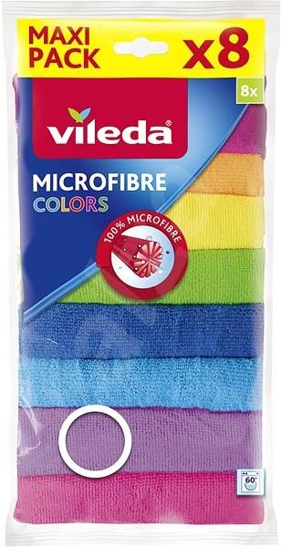 VILEDA Mikrohadřík Colors 8 ks - Hadřík