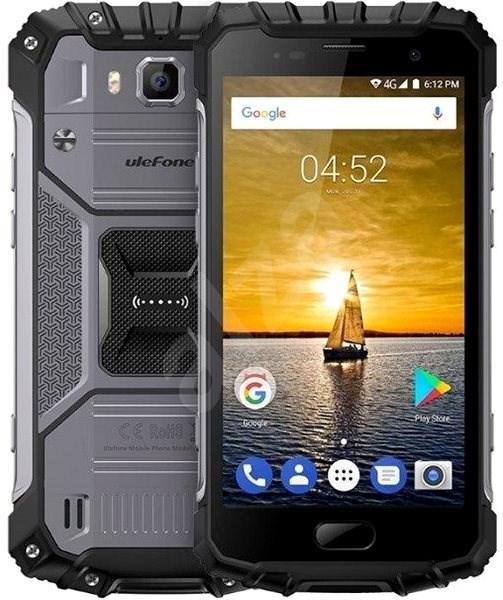 UleFone Armor 2 DS Grey - Mobilní telefon