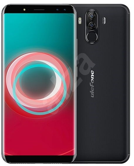 UleFone Power 3S Dual SIM Black - Mobilní telefon