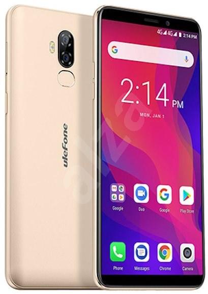 UleFone Power 3L zlatá - Mobilní telefon