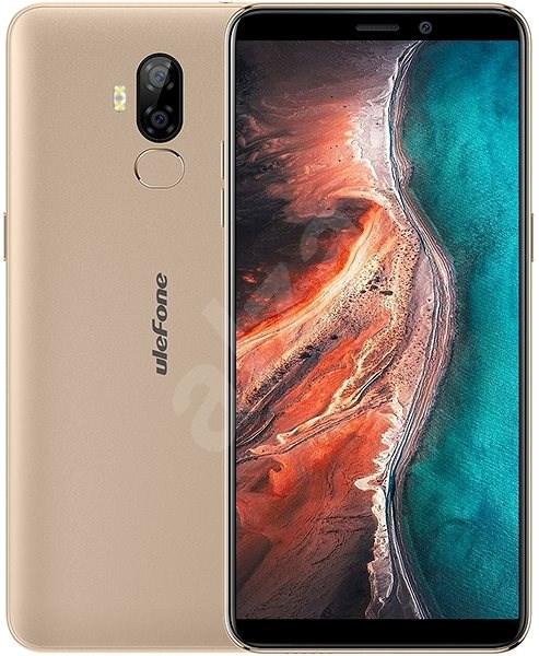 UleFone P6000 Plus zlatá - Mobilní telefon