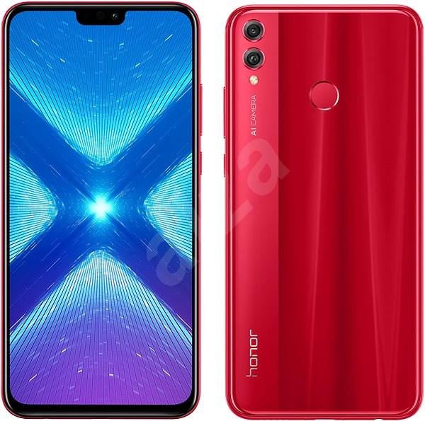 Honor 8X 64GB červená - Mobilní telefon