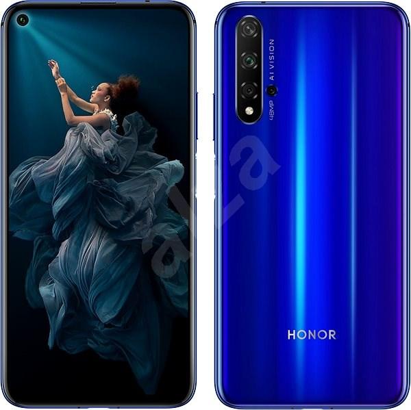 Honor 20 modrá - Mobilní telefon
