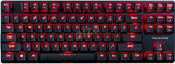 Modecom VOLCANO BLADE černá - Herní klávesnice