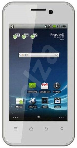 ZTE Atlas W White - Mobilní telefon