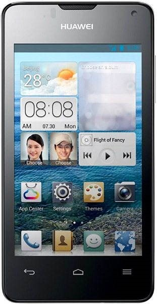 HUAWEI Ascend Y300 Black - Mobilní telefon