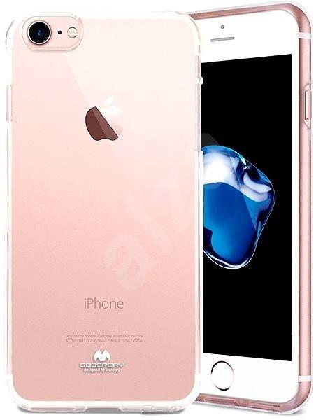 Mercury Jelly Case pro iPhone 7 Transparent - Ochranný kryt  1e91af19514
