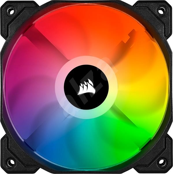 Corsair iCUE SP120 RGB PRO 120mm RGB LED Fan, Single Pack - Ventilátor do PC
