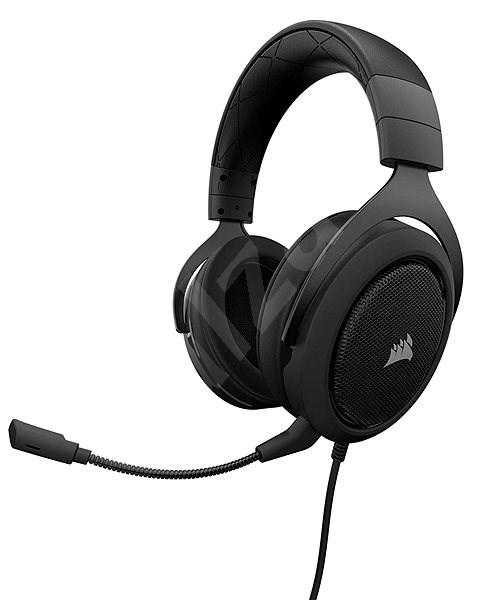 Corsair HS50 Stereo Carbon - Herní sluchátka