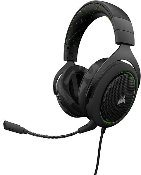 CORSAIR HS50 STEREO Green  - Herní sluchátka
