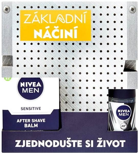 NIVEA MEN kazeta Tool Box Sensitive - Dárková sada kosmetická