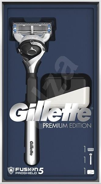 GILETTE Fusion5 ProShield Chill Set + Stojan - Dárková sada