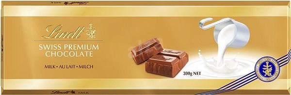LINDT Swiss Premium Gold Tablet Milk 300 g - Čokoláda
