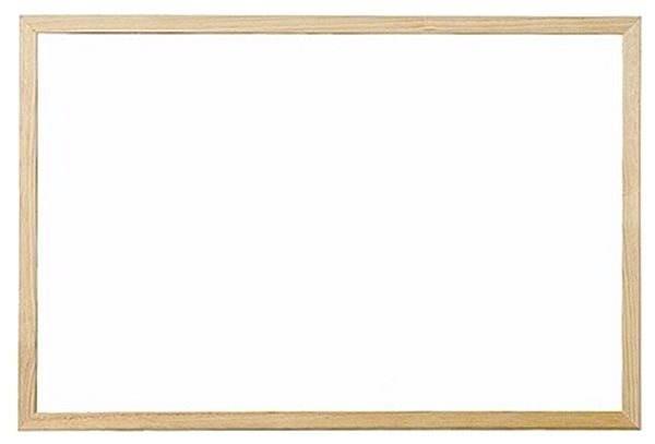 VICTORIA nemagnetická 60x90cm bílá - Tabule