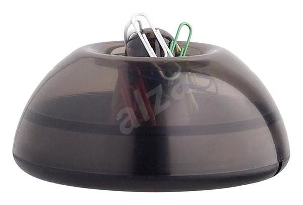 ICO Lux šedý/kouřový - Zásobník
