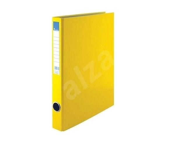 VICTORIA A4 35mm - žlutý - Šanon