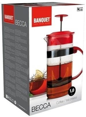 BANQUET Konvice na čaj a kávu BECCA 1l A00012 - French press