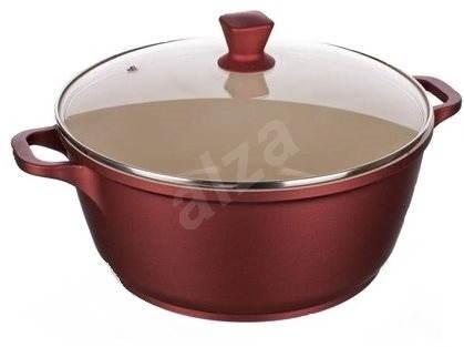 17b7a2fb1 BANQUET Gourmet ceramia Hrnec s pokl. 4.5l, 24cm A11379 - Hrnec ...