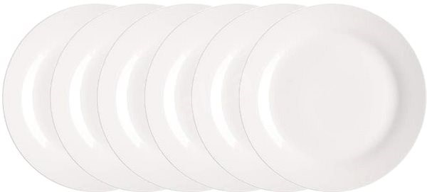 BANQUET mělký talíř 6ks A02416 - Sada talířů