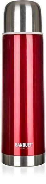 BANQUET Avanza Red 1l A00634 - Termoska