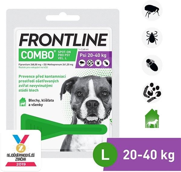Frontline combo spot - on pro psy L  (20 - 40 kg) - Antiparazitní pipeta