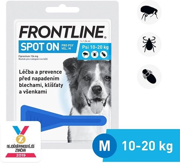 Frontline spot - on pro psy M (10 - 20 kg) - Antiparazitní pipeta