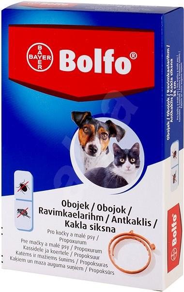 Bolfo 1,234 g medikovaný obojek pro kočky a malé psy - Antiparazitní obojek