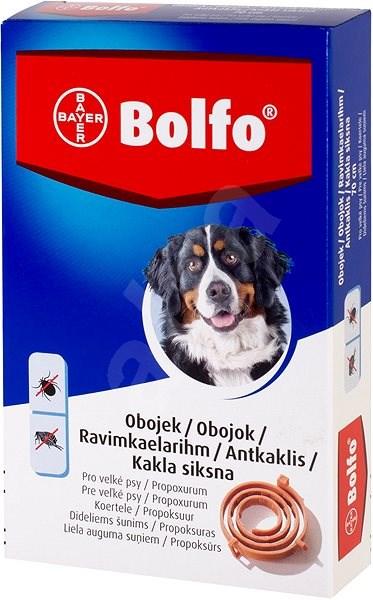 Bolfo 4,442 g medikovaný obojek pro velké psy - Antiparazitní obojek